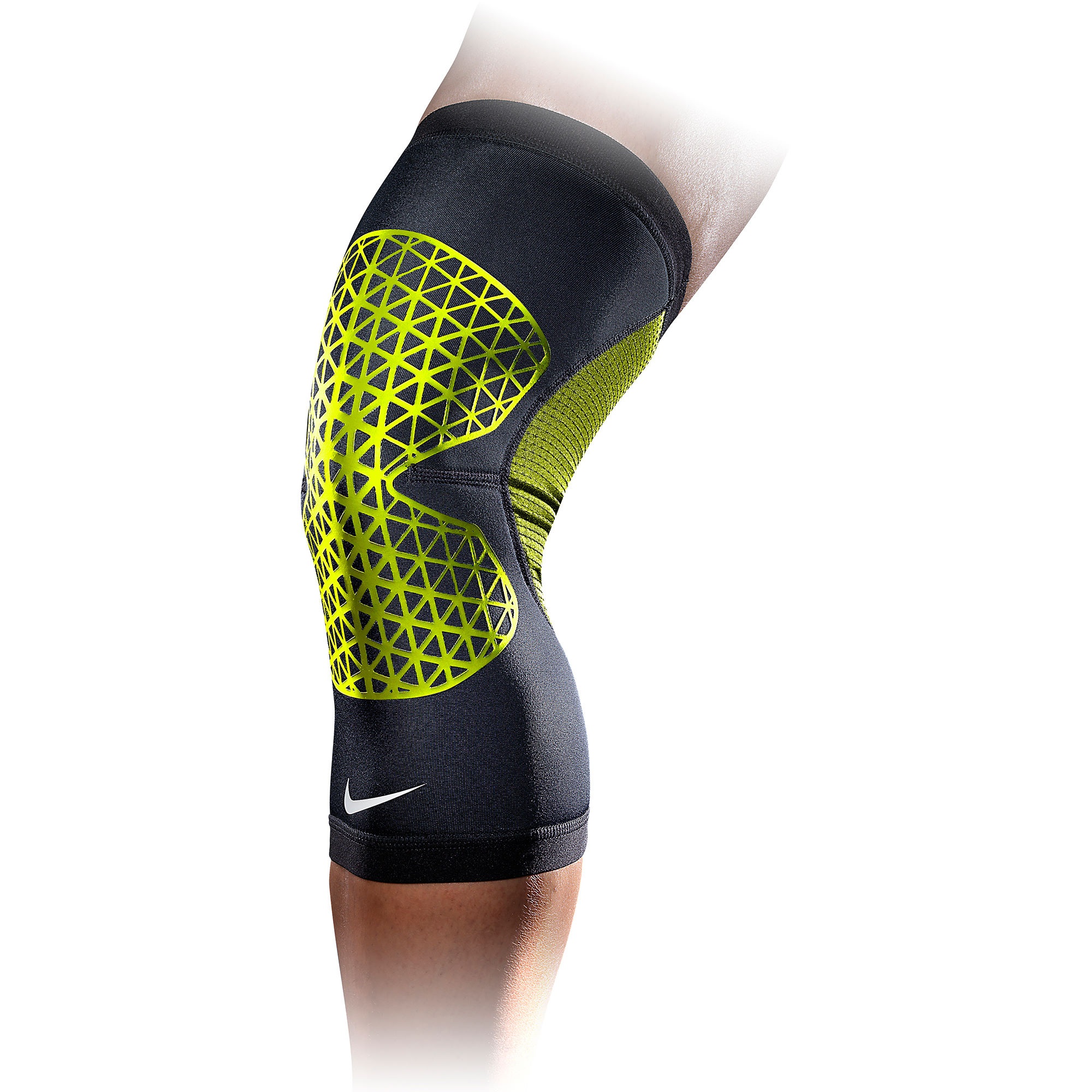 wiggle nike pro combat knee sleeve fa14 first aid injury. Black Bedroom Furniture Sets. Home Design Ideas