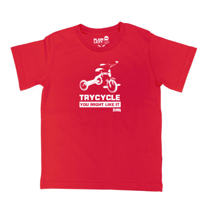 Plain Lazy - キッズ Trycycle Tシャツ