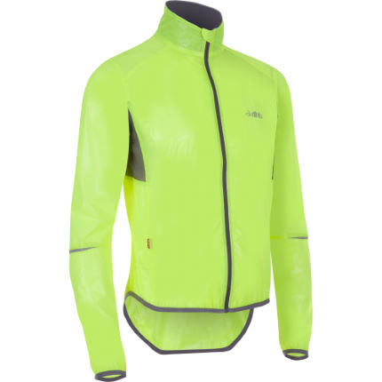 dhb Clear Race Jacket Fluoro