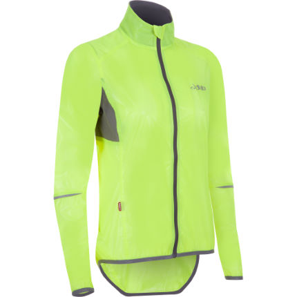 dhb Women's Clear Race Jacket Fluoro