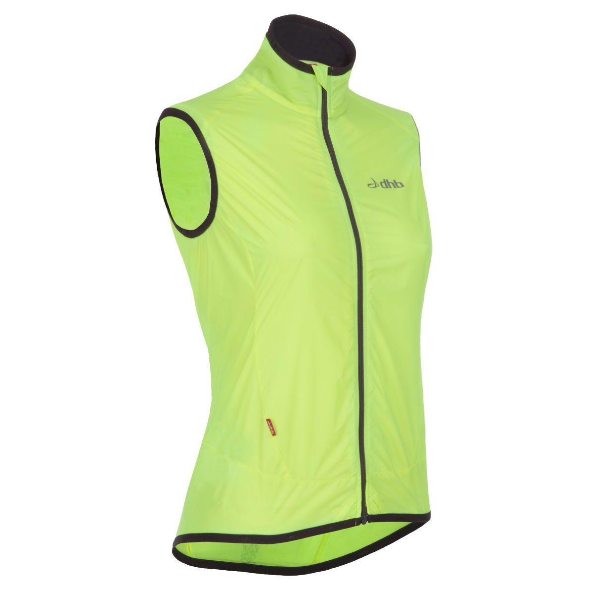 dhb Women's Wisp Fluro Windproof Gilet