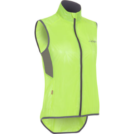 dhb Ladies Fluro Clear Race Gilet