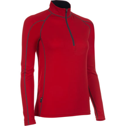dhb Women's Corefit Zip Neck Base Layer