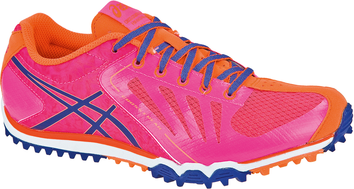 asics cross freak rose