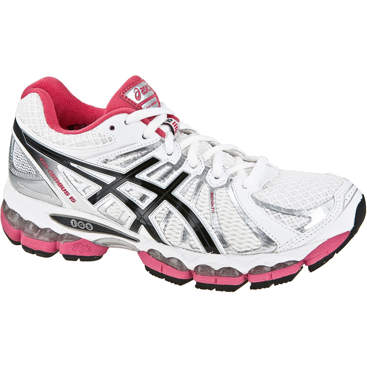 asics gel nimbus 15 ladies running shoes