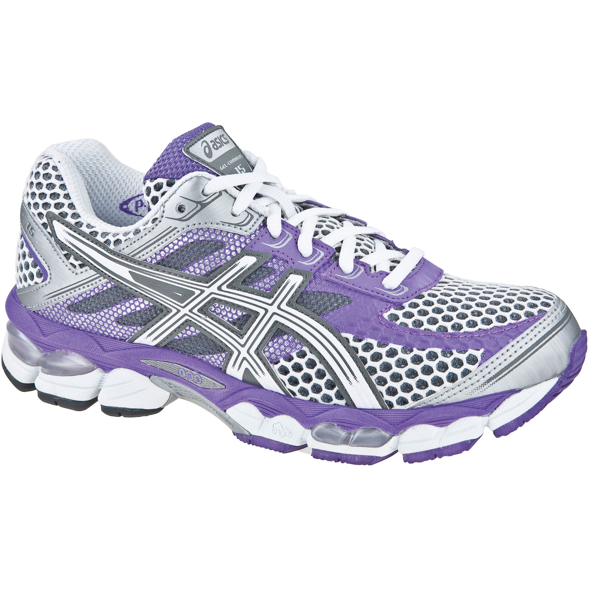 asics gel-cumulus 15 womens running shoes size 6