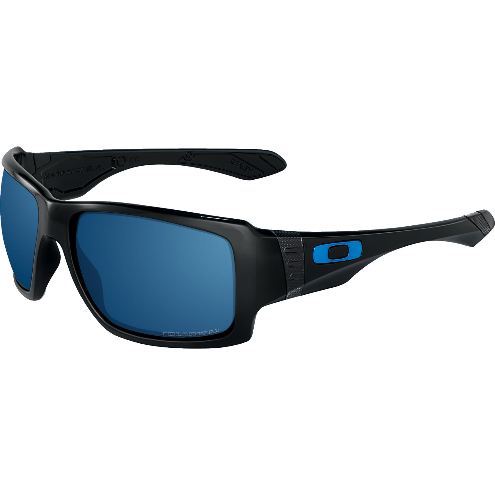 are oakley iridium lenses polarized  oakley big taco sunglasses