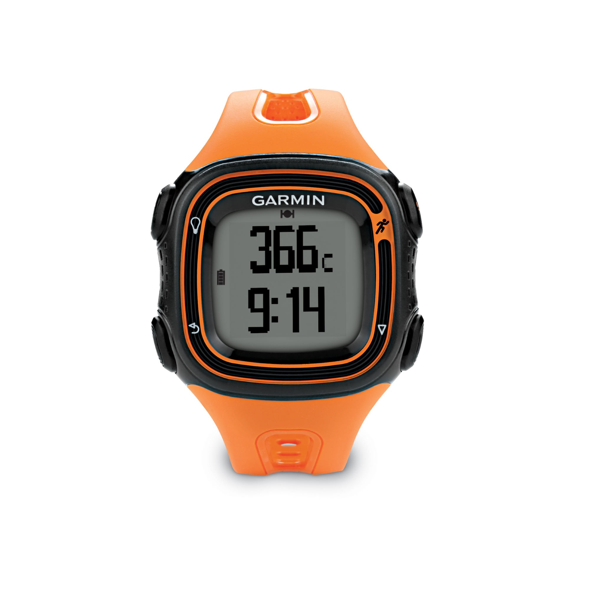 compteurs gps de running garmin forerunner 10 gps running watch orange wiggle france. Black Bedroom Furniture Sets. Home Design Ideas
