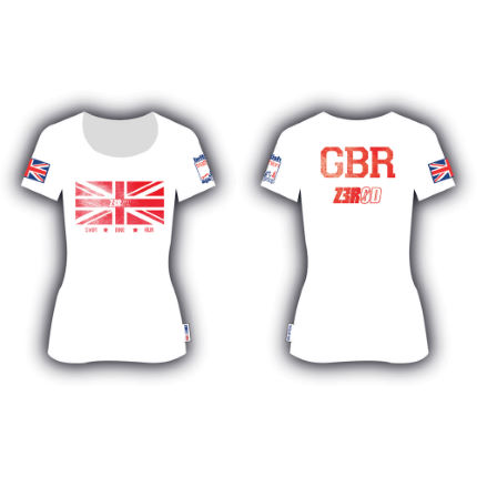 Z3R0D Ladies British Triathlon Age Group T-Shirt