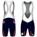 Z3R0D British Triathlon Age Group Cycling Bibshorts