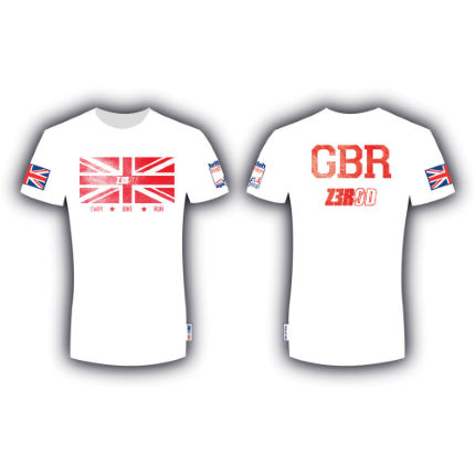 Z3R0D - British Triathlon Age Group Tシャツ