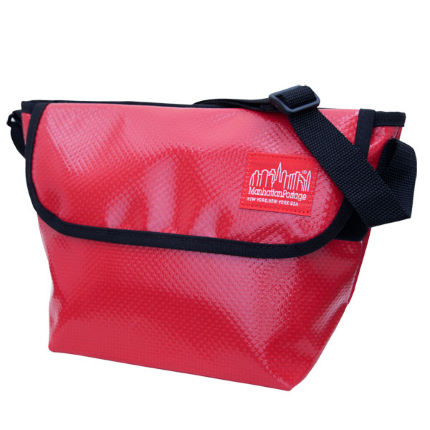 Manhattan Portage Vinyl Mini NY Messenger Bag