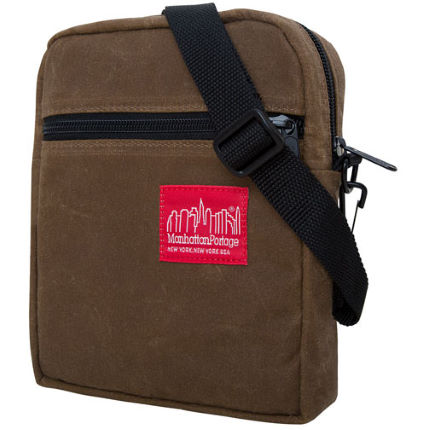 Manhattan Portage Wax Canvas City Lights Bag