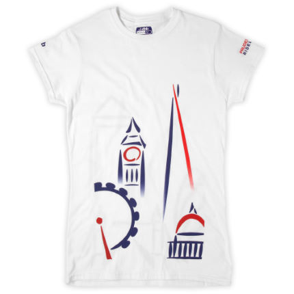 dhb Ladies Prudential RideLondon Skyline T-Shirt