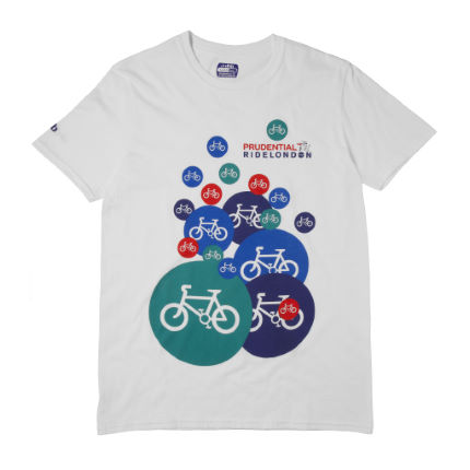 dhb Prudential RideLondon Cycle Bubble T-Shirt