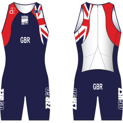 Z3R0D - British Triathlon Age Group Customised Tri uSuit