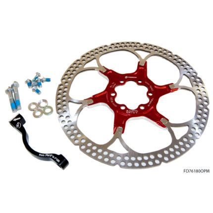 "Formula Mounting Kit With Aluminium Rotor Carrier 8"" PM"