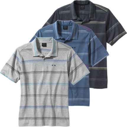 Oakley Striped Union Polo