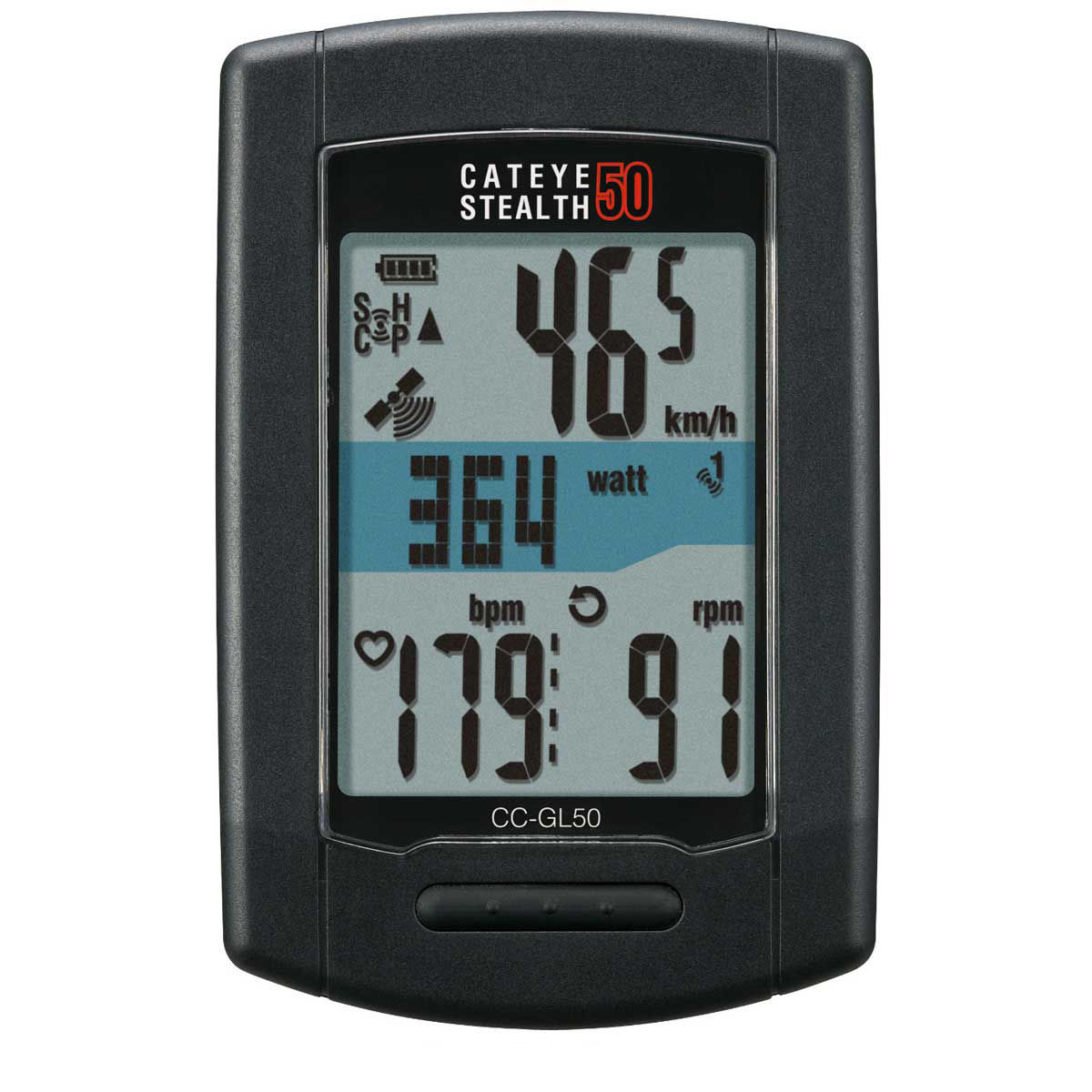 compteurs v lo gps cateye stealth 50 gps with hr and. Black Bedroom Furniture Sets. Home Design Ideas