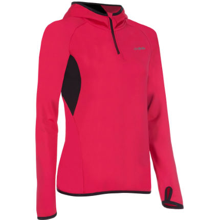 dhb Women's Zelos Thermal Hooded Half Zip Top