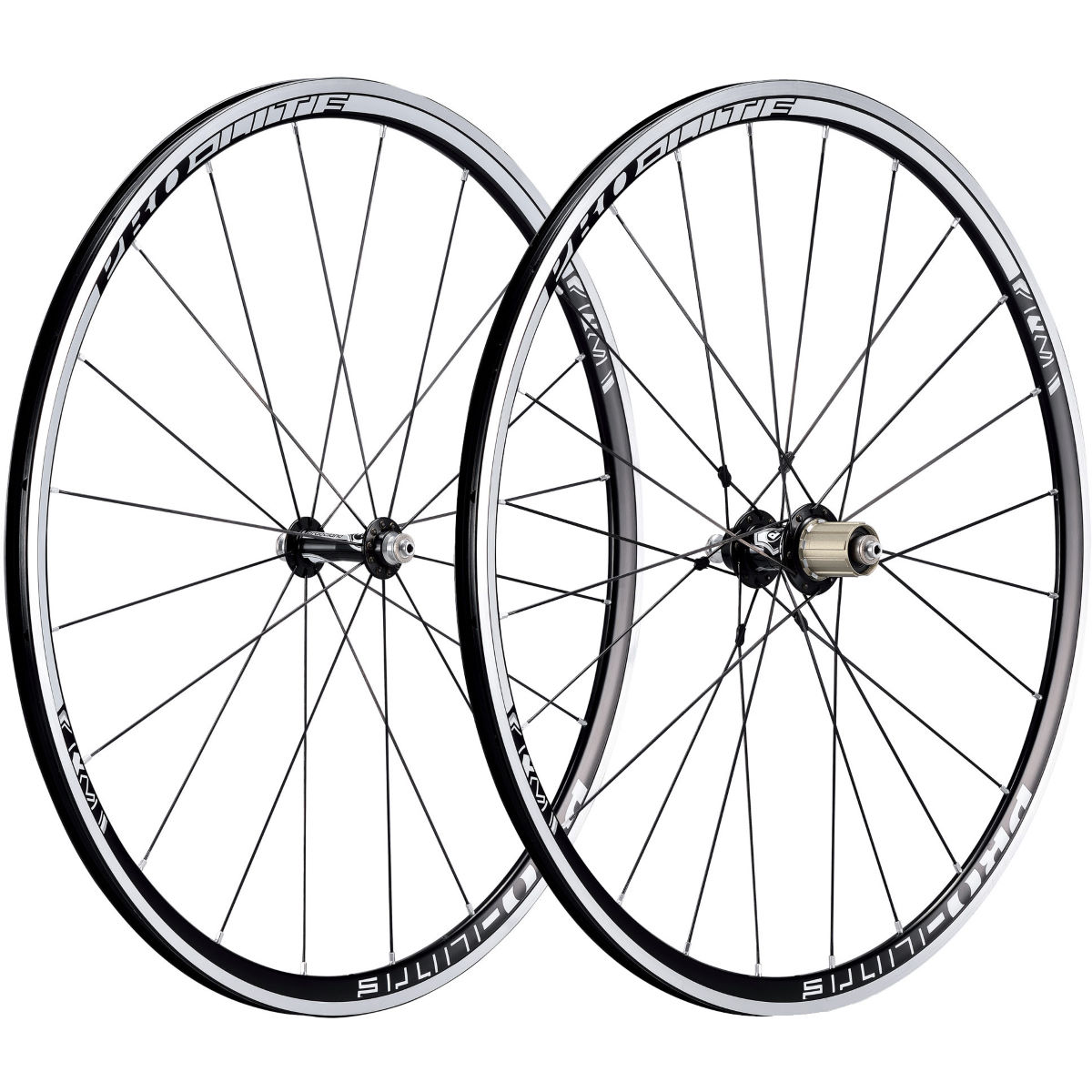 Pro Lite Bracciano A27 Black Alloy Clincher Wheelset   Performance Wheels