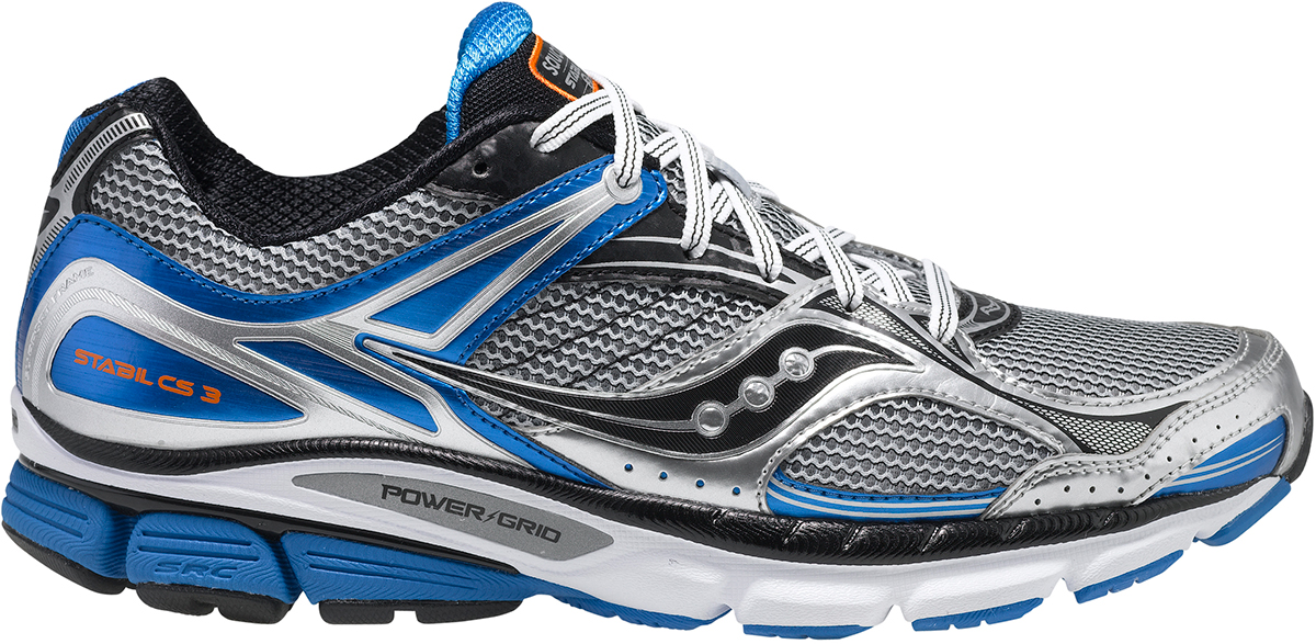 saucony stabil cs3 running shoes - ss15