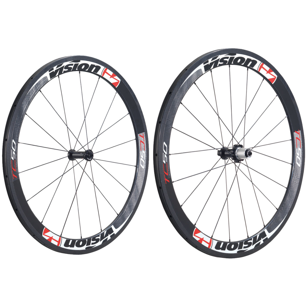 roues de comp tition sur route vision tc50 carbon tubular wheelset wiggle france. Black Bedroom Furniture Sets. Home Design Ideas