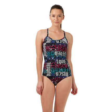 Speedo - Discofever Allover Muscleback スイムスーツ AW13