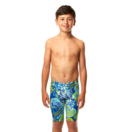 Speedo - 男の子用 Hip Hop Allover ジャマー AW13