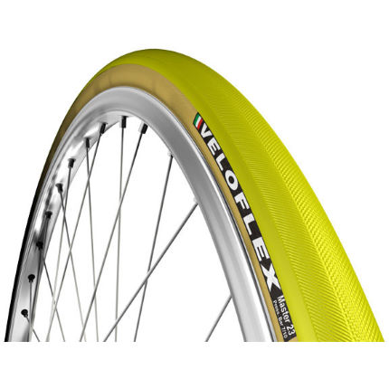 Veloflex Master 23 Clincher Folding Tyre Yellow