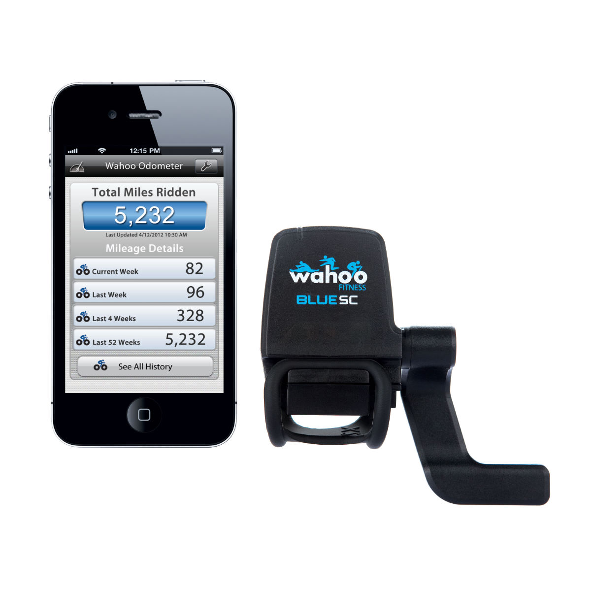 Wahoo Blue SC Speed & Cadence Sensor with BLE & ANT   Cycle Computers