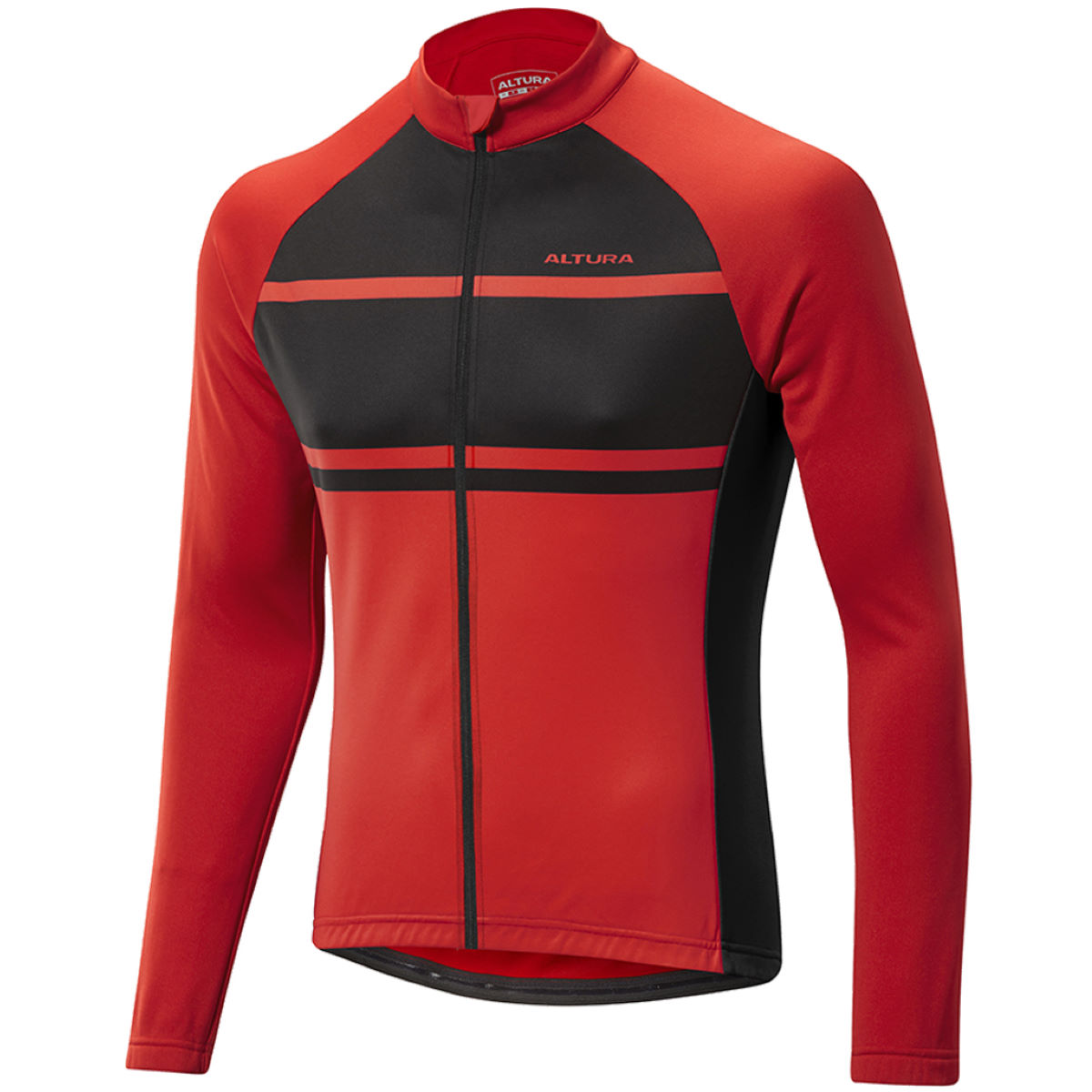 Maillot cycliste Altura Airstream (manches longues) - XL Rouge/Noir