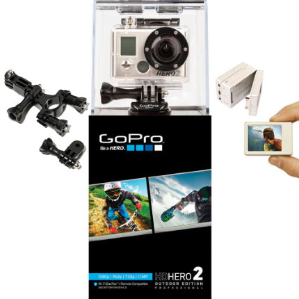 GoPro HD hero 2 Outdoor Bundle