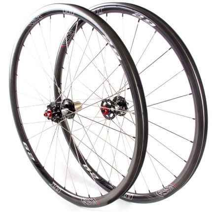 USE Nano Tech X3.0 Carbon Tubular Cyclocross Wheelset