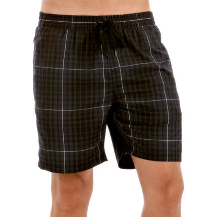 "Speedo - Yarn Dyed Check Leisure 18"" Watershort AW13"