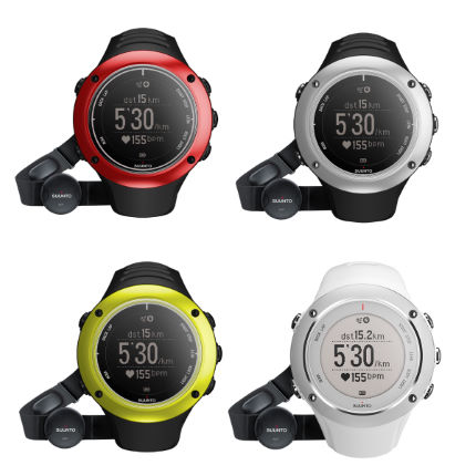 Wiggle Suunto Ambit 2 S Gps Watch With Hrm Blacksilver Watches