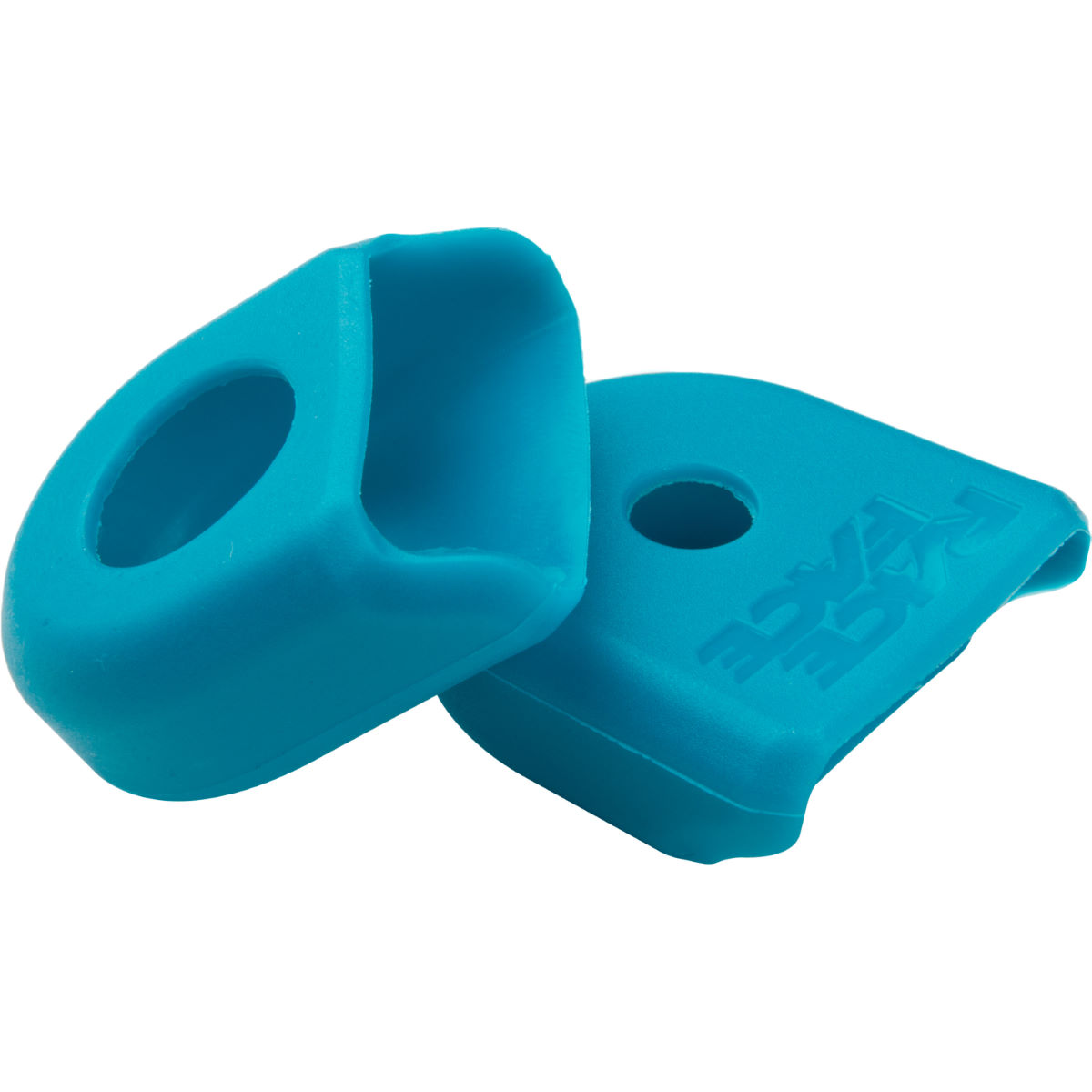 Protections de manivelle Race Face (paire) - carbon fit Turquoise