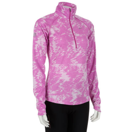 Nike Ladies Jacquard Half Zip - FA13