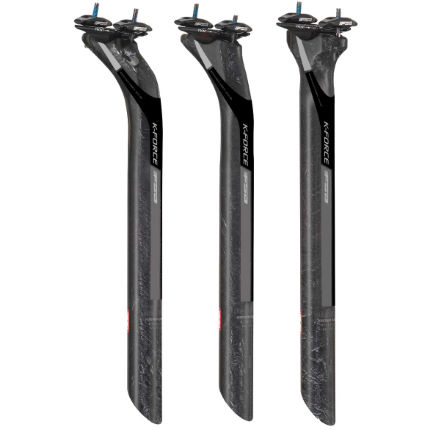 FSA FSA K-Force Carbon Seat Post - Black/Grey