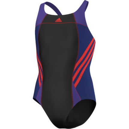 maillots de bain enfant adidas girls infinitex athletic one piece swimsuit ss14 wiggle france. Black Bedroom Furniture Sets. Home Design Ideas