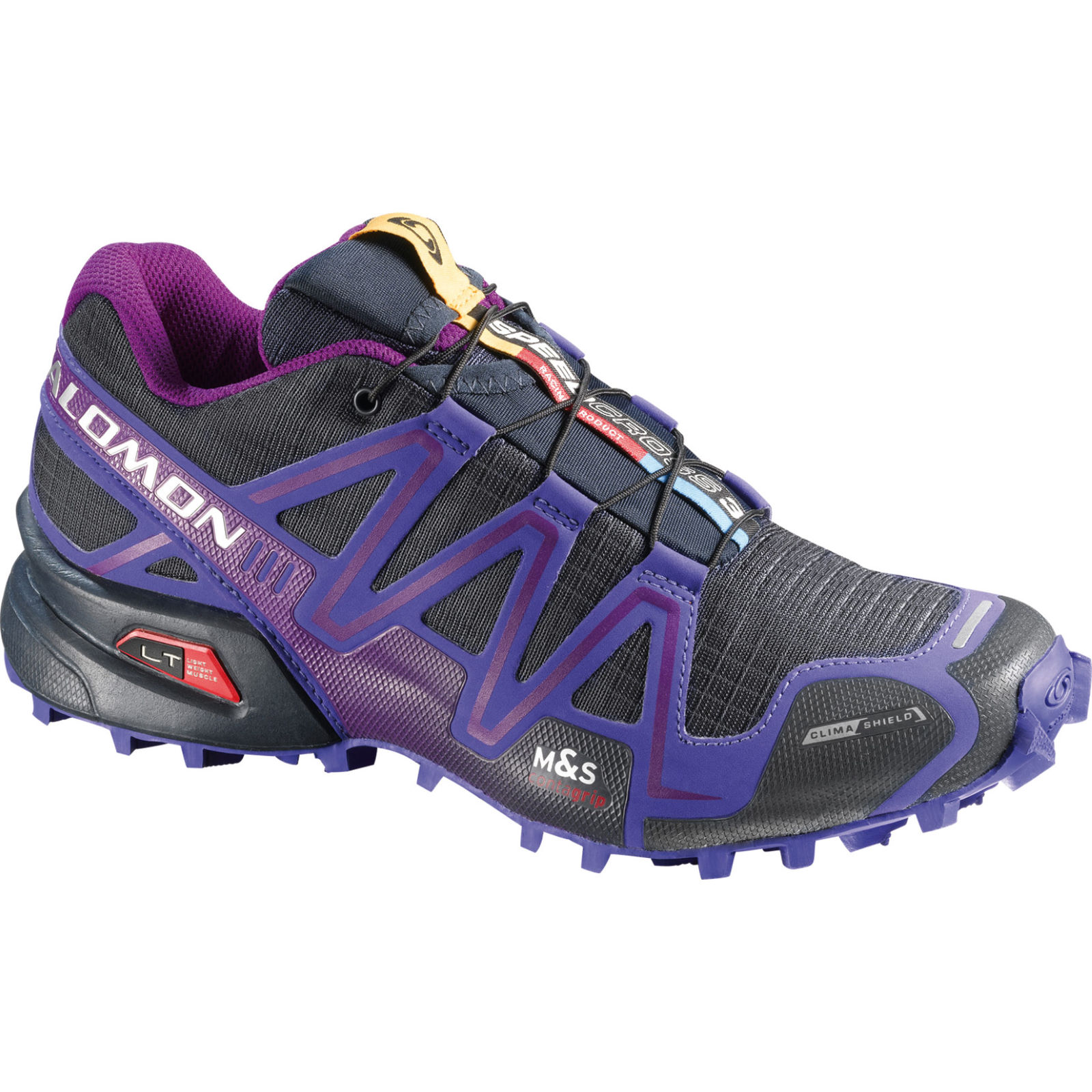 chaussures de running trail salomon women 39 s speedcross 3 cs shoes ss14 wiggle france. Black Bedroom Furniture Sets. Home Design Ideas