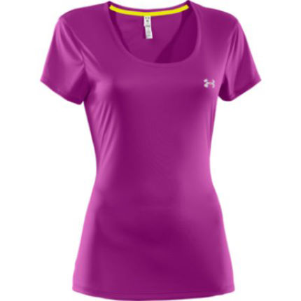Under Armour Ladies HeatGear Flyweight Tee - AW13