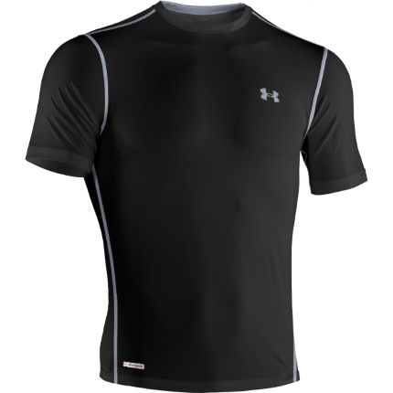 Under Armour Heatgear Sonic Fitted Short Sleeve Tee - AW13