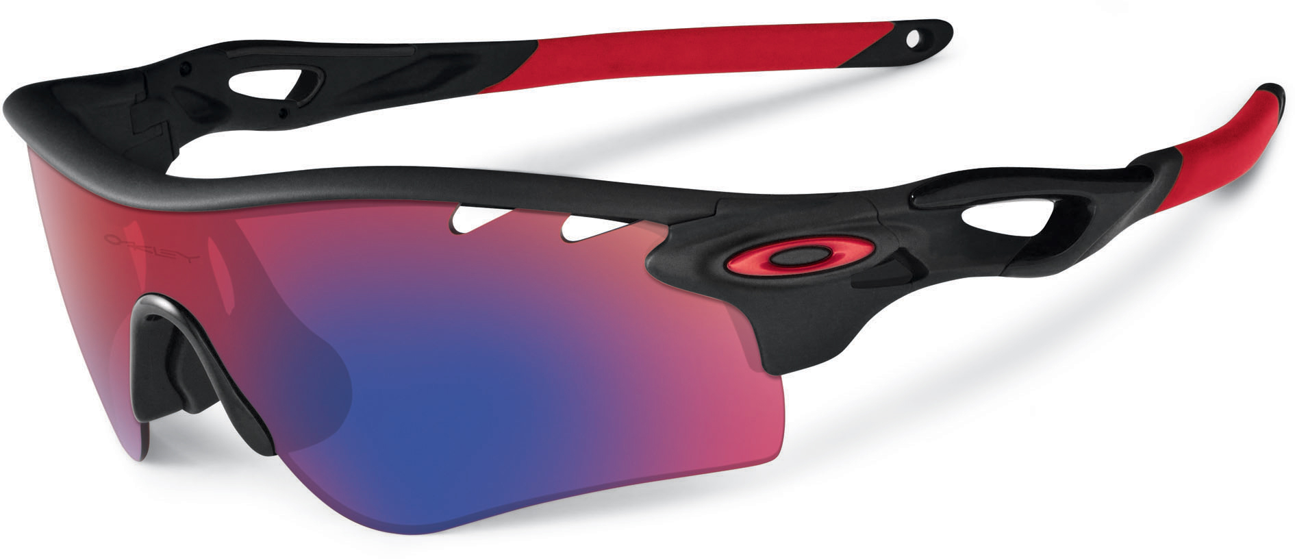 oakley radarlock path blue polarized