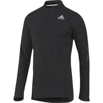 Adidas Sequencials Half Zip Long Sleeve Tee - AW13