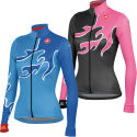 Castelli Ladies Fiamma Full Zip Jersey
