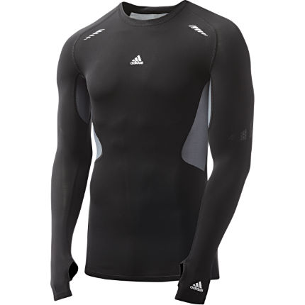 Adidas Techfit Preparation Long Sleeve Top - AW13