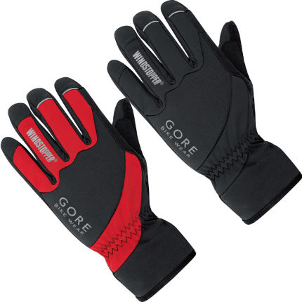 Gore Bike Wear Tool Windstopper Soft Shell Gloves