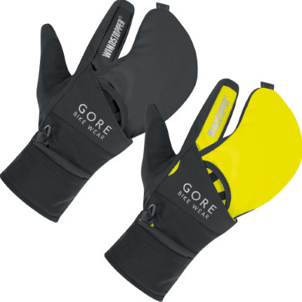 Gore Bike Wear Fusion Windstopper Softshell Gloves