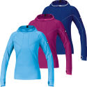 Gore Running Wear Ladies Air Hooded Shirt AW13